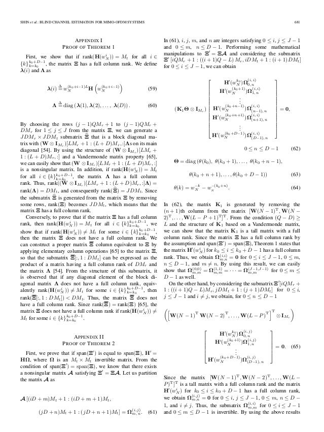 mimo ofdm channel estimation thesis This thesis mainly concerns only with the pilot-aided channel estimation techniques for mimo-ofdm systemfirst, pilot symbol assisted modulation (psam) channel estimation is investigated for siso-ofdm systems, mainly focusing on the block-type and comb-type channel estimation.