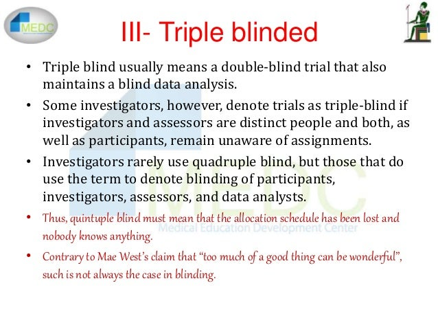 Double-blind study - definition of double-blind study by ...