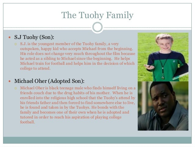 family collage the blind side the
