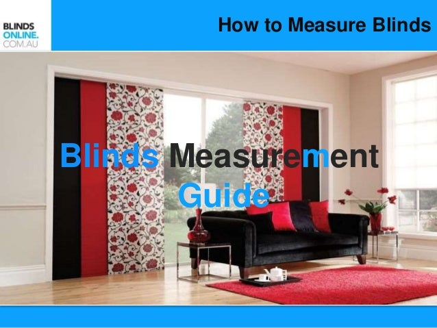 how miklab for measure instructions blinds measurement to