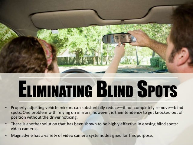 Blind Spots And Vehicle Safety