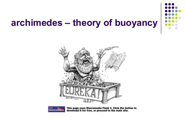 archimedes – theory of buoyancy