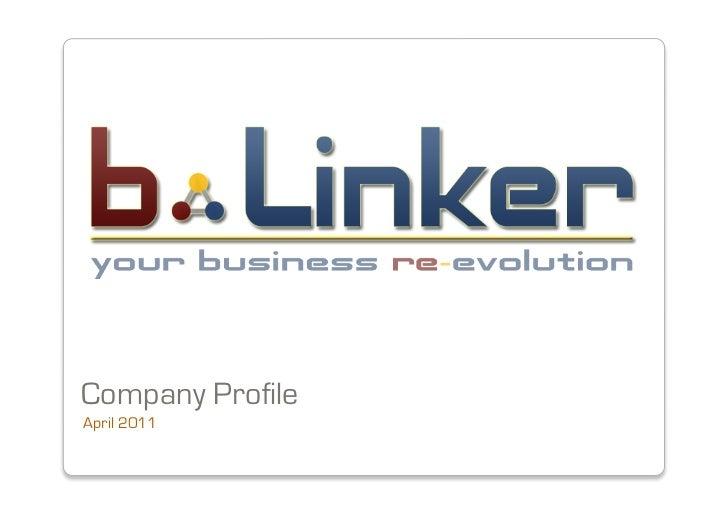 Company ProfileApril 2011