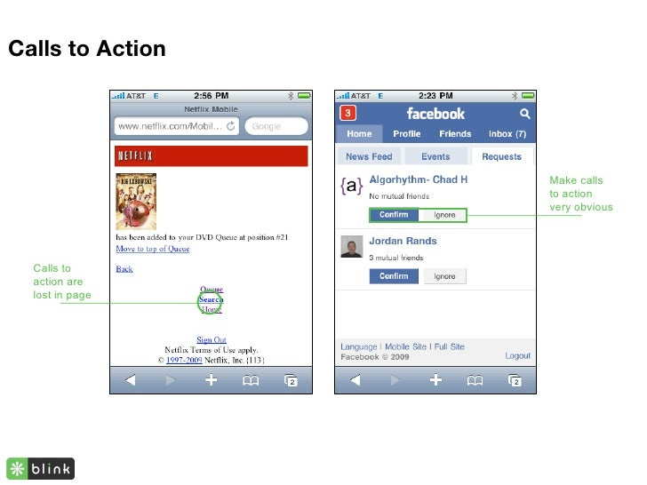 Calls to Action                       Make calls                   to action                   very obvious       Calls to...