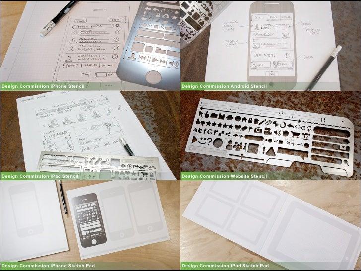 Design Commission iPhone Stencil      Design Commission Android Stencil     Design Commission iPad Stencil        Design C...