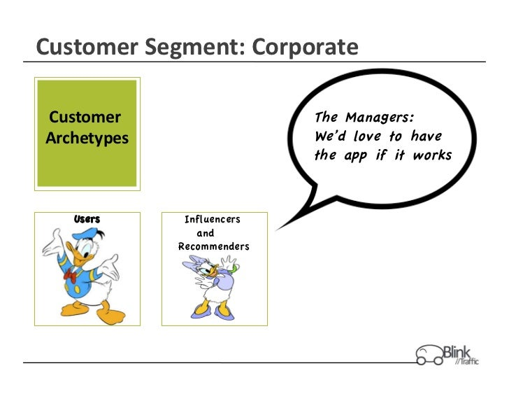Customer	  Segment:	  Corporate	   Customer	                        The Managers: Archetypes  	                    We'd lo...
