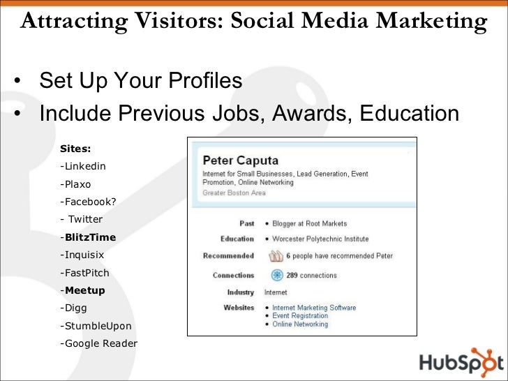 How to Generate Leads Using Social Media Slide 3