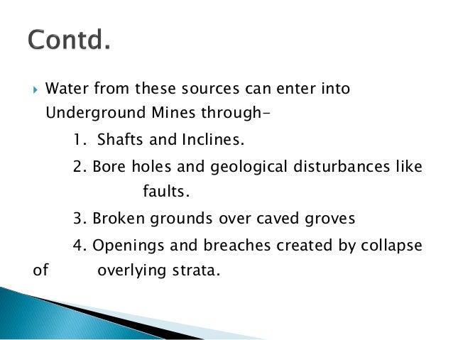 Mine Legislation Safety Amp Hazardous