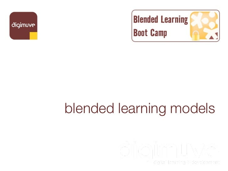 blended learning models