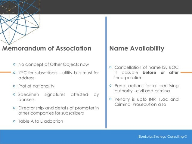Companies Act 2013 - Some New Concepts: Part 2 Slide 3