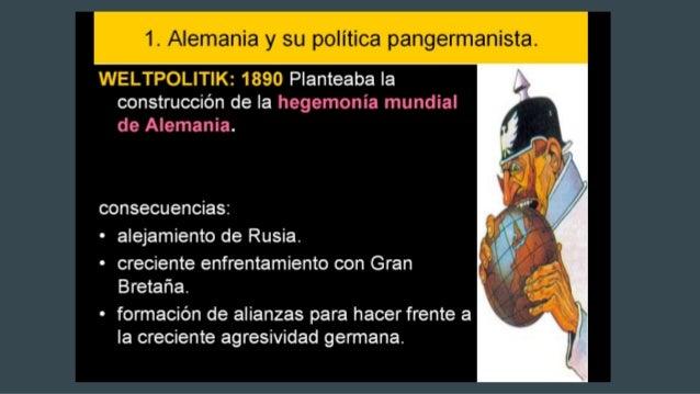 LOS SISTEMAS DE ALIANZAS