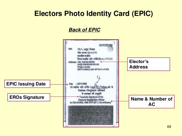 How to check voter id card status in bangalore dating 8