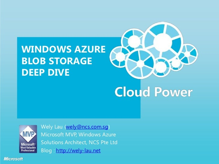 Windows Azure Blob Storage