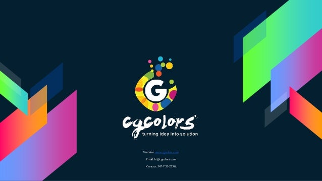 Website:www.cgcolors.com Email:hi@cgcolors.com Contact: 347-732-2736