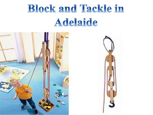 Block & Tackle Pulley Kit : Block and tackle adelaide