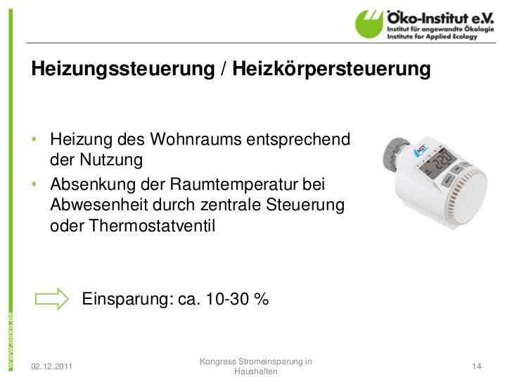Heizungssteuerung / Heizkörpersteuerung• Heizung des Wohnraums entsprechend  der Nutzung• Absenkung der Raumtemperatur bei...