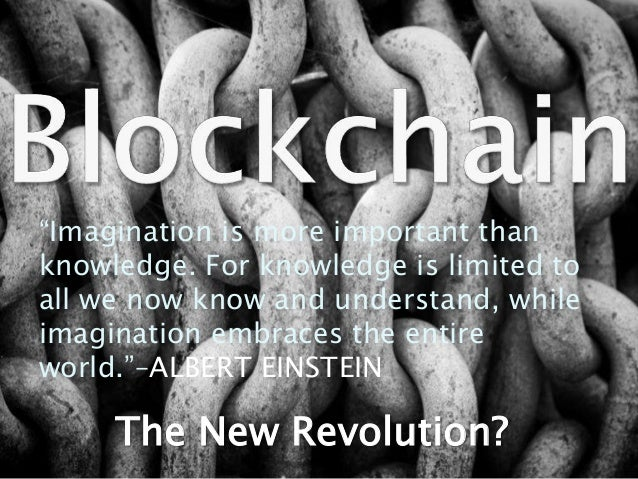 """The New Revolution? """"Imagination is more important than knowledge. For knowledge is limited to all we now know and underst..."""