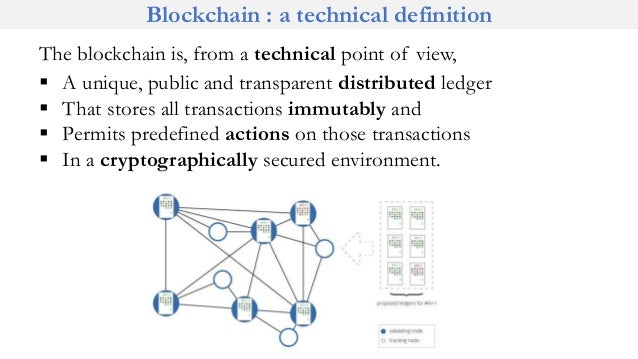 Permissioned blockchain definition of science
