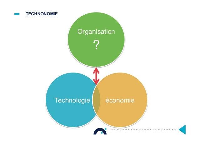 TECHNONOMIE Technologie Organisation ? économie