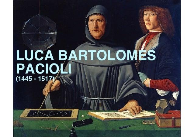 LUCA BARTOLOMES PACIOLI  (1445 - 1517)