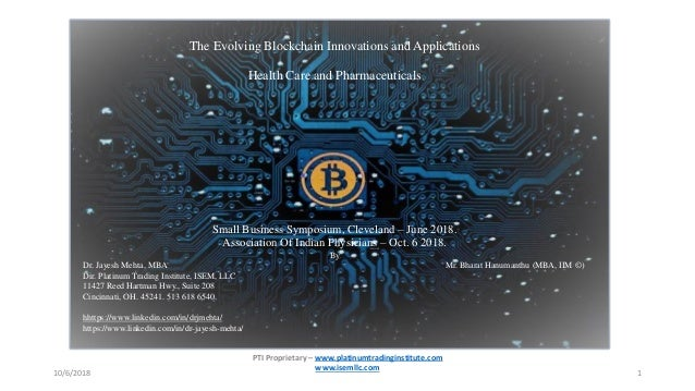 The Evolving Blockchain Innovations And Applications Health Care And