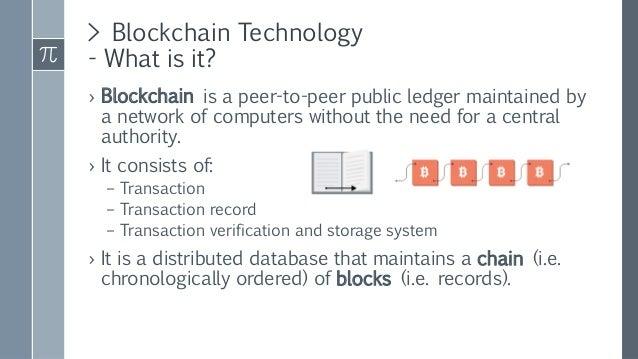 Blockchain Technology - ICANN58 Slide 3