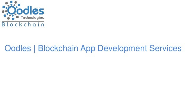Oodles | Blockchain App Development Services