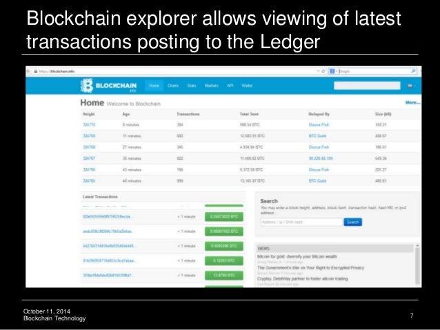 Ledger technology blockchain crowdfunding