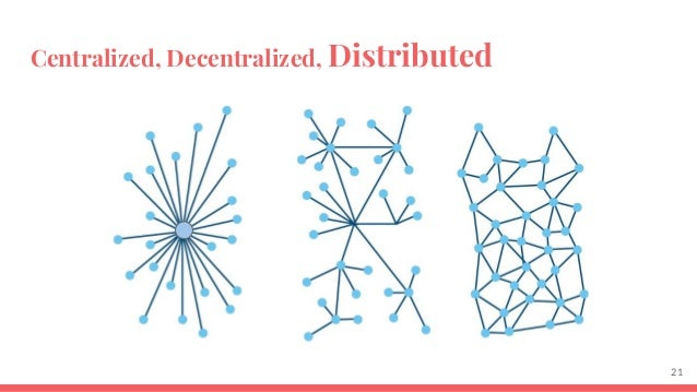 essay on centralisation and decentralisation Why decentralization matters  centralization has also created broader societal tensions, which we see in the debates over subjects like fake news, state sponsored bots, no platforming of.
