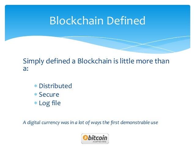 Block chain by harsh biltu agarwal Slide 2