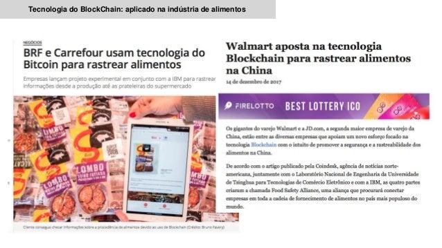 Tecnologia do BlockChain: aplicado na indústria de alimentos