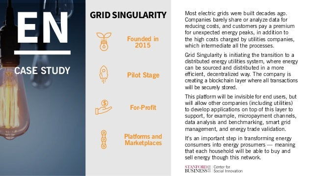 Most electric grids were built decades ago. Companies barely share or analyze data for reducing costs, and customers pay a...