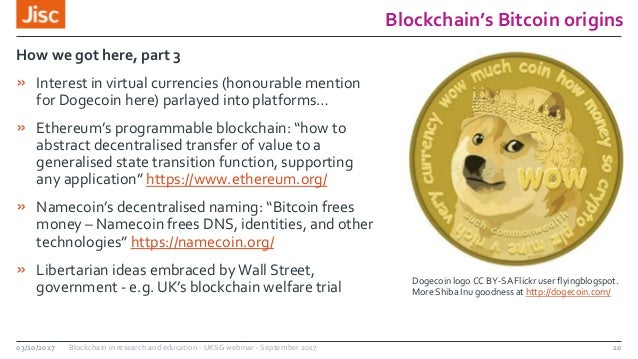 UKSG webinar: Blockchain in research and education with