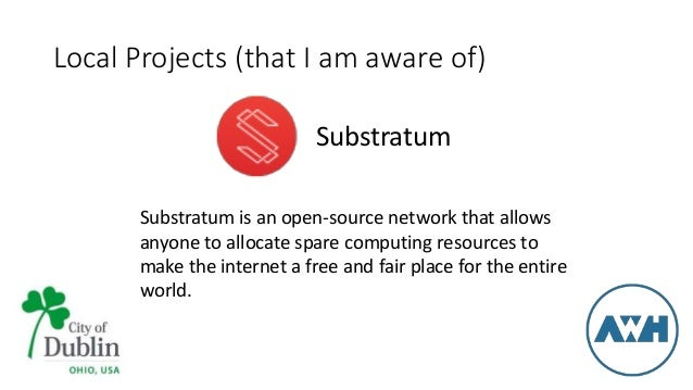 Substratum Network description
