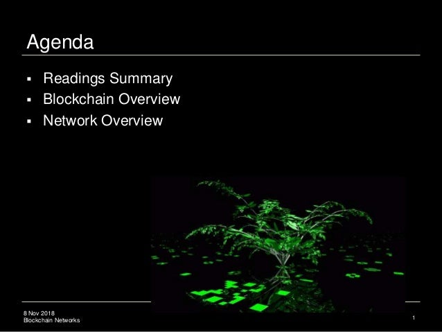 Blockchain Network Theory Slide 2