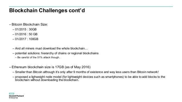 Blockchain Challenges cont'd 45