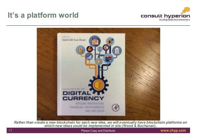 www.chyp.comPlease Copy and Distribute It's a platform world Rather than create a new blockchain for each new idea, we wil...