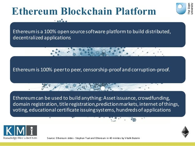 DApps Source:Ethereum - StephanTual AĐapp isadecentralised applicationwhichservessome specificpurpose toitsus...