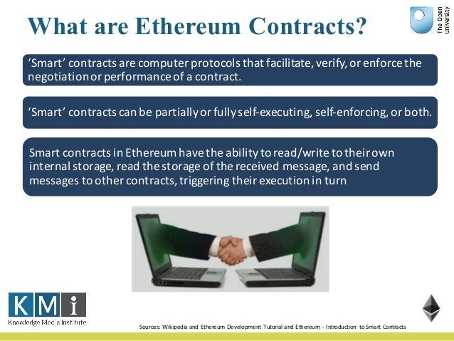 Characteristics of Blockchain DApps • Shared database • Multiple writers • Absence of trust • Disintermediation • Transact...
