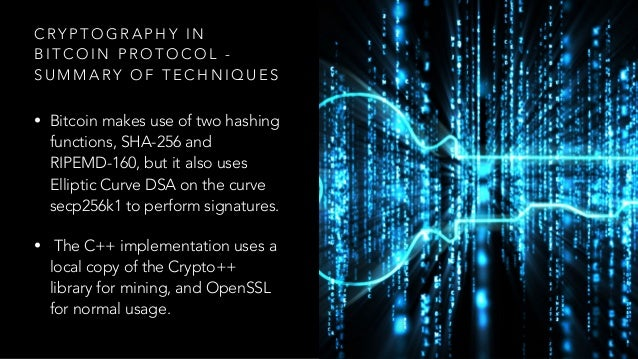 Blockchain and Cryptography - A Primer