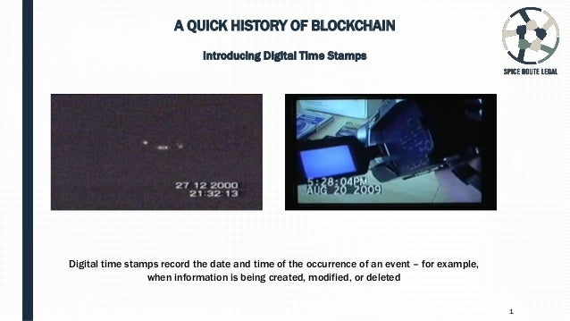 Blockchain & the law 101 Slide 2