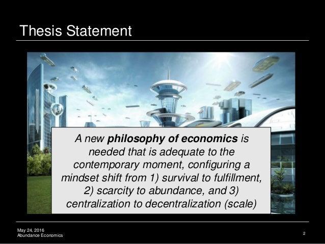 Blockchain Theory of Abundance Economics Slide 3