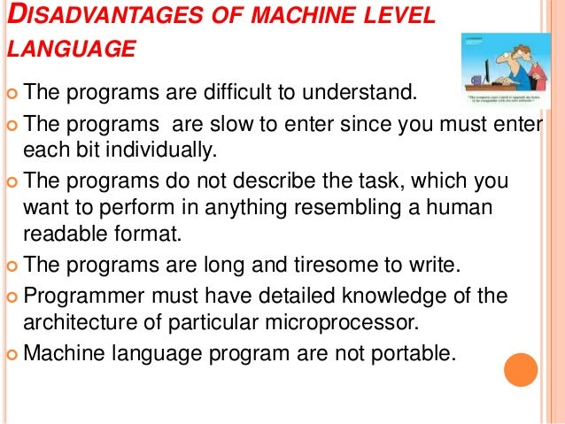 Block diagram computer programming utilization 10 disadvantages of machine level language ccuart Image collections