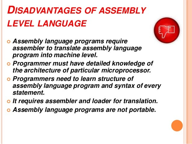 Block diagram computer programming utilization 13 disadvantages of assembly level language ccuart Image collections