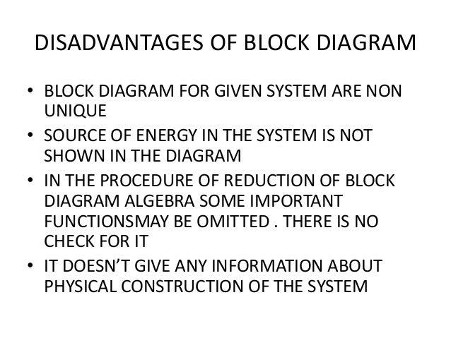 Advantages of block diagram auto electrical wiring diagram block diagram representation rh slideshare net advantages of block diagram representation of a system advantages of block diagram representation of a system ccuart Images