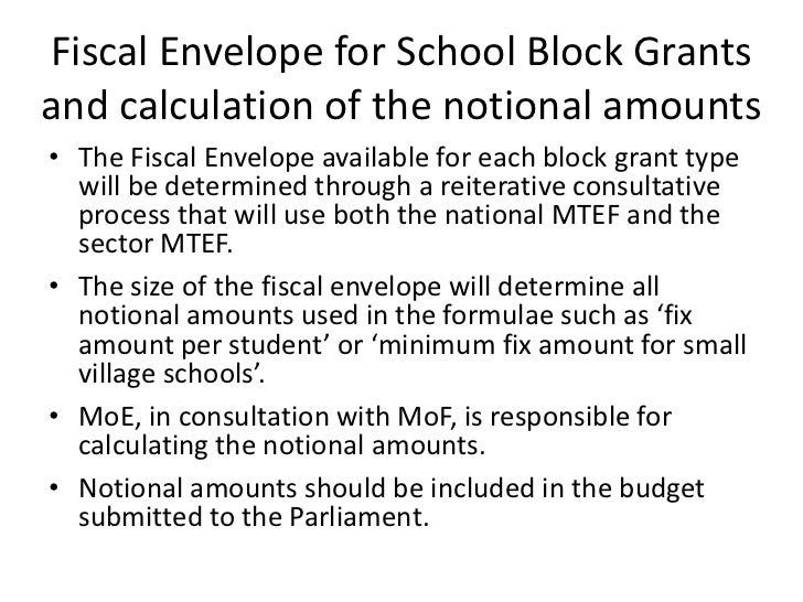 Block Grants Examples