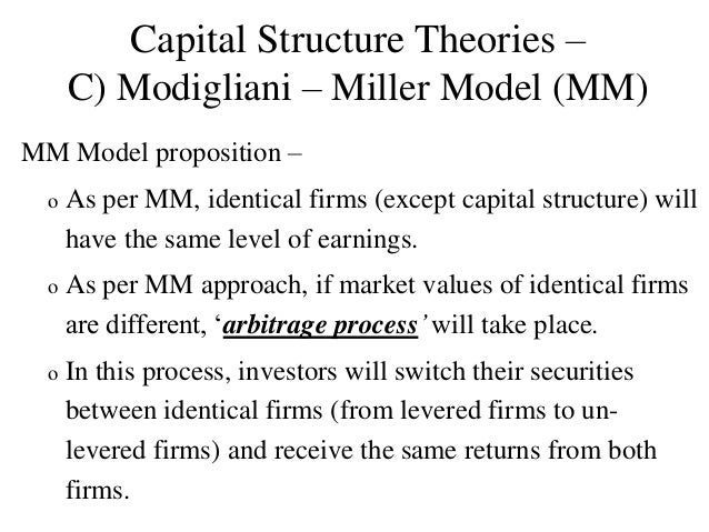 miller modigliani dividend irrelevance proposition 3 the miller-modigliani dividend irrelevance proposition 351  payout policy framework we then describe the miller and modigliani  irrelevance proposition,.