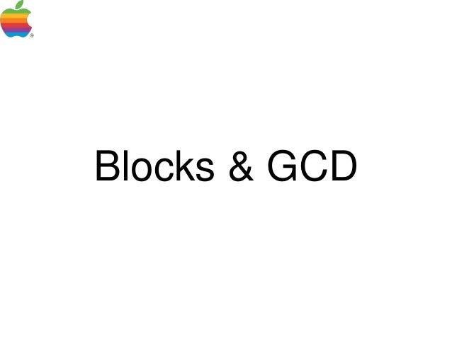 Blocks & GCD