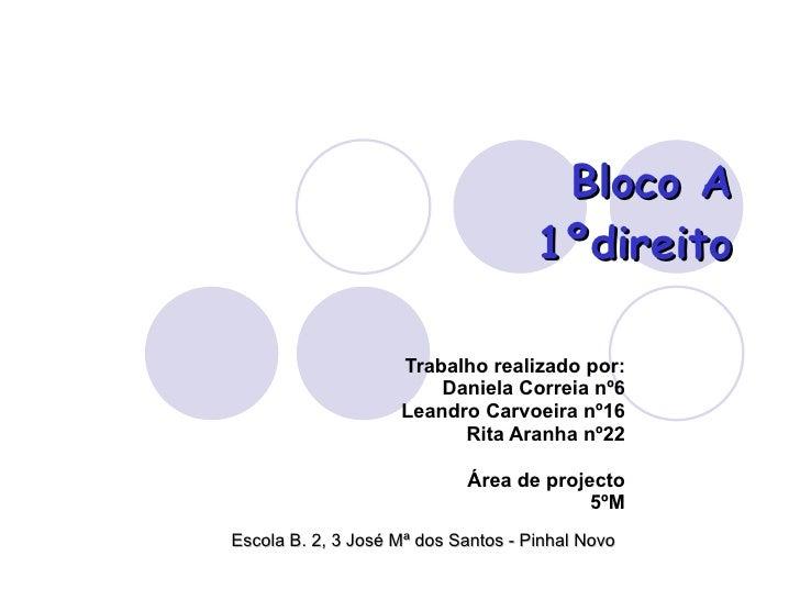 Trabalho realizado por: Daniela Correia nº6 Leandro Carvoeira nº16 Rita Aranha nº22 Área de projecto 5ºM Escola B. 2, 3 Jo...