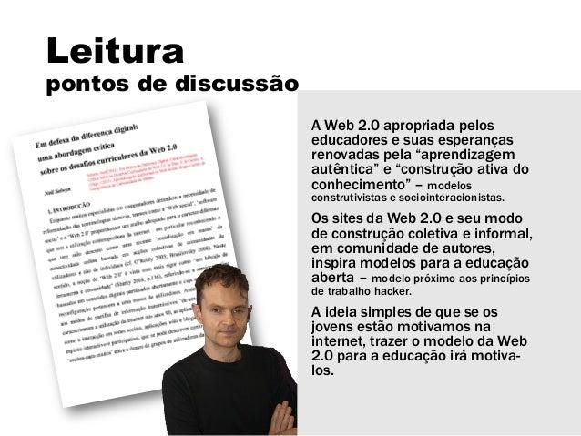 Educação aberta Slide 2